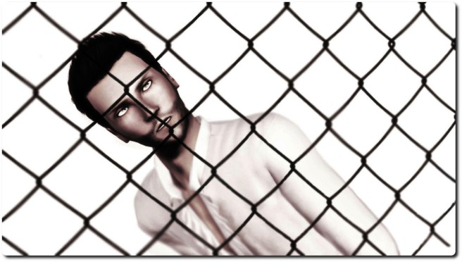 Jayden caged